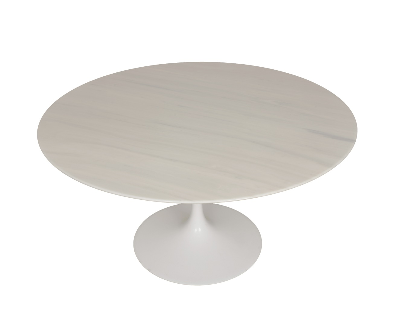Tavolo Tulip Knoll Marmo : Eero saarinen tulip carrara marble table round knoll international